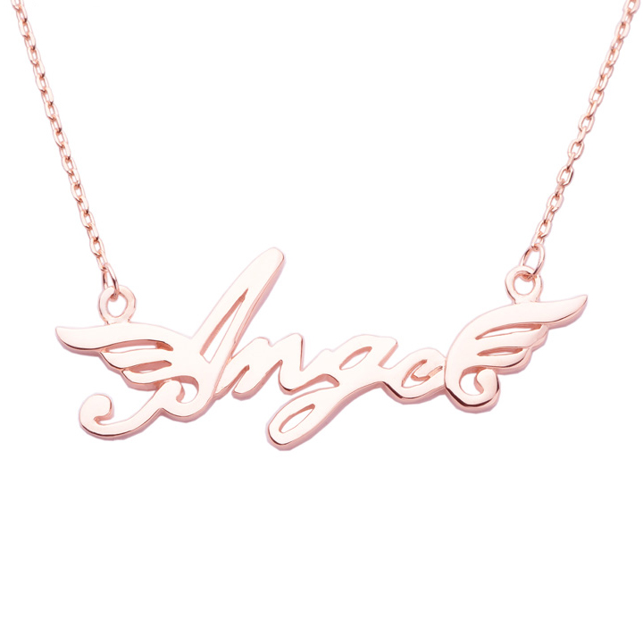 Classic Personalized Name Necklace