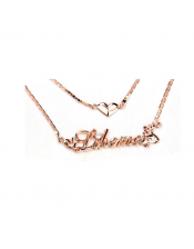 Elegant Double Layer Personalized Name Necklace
