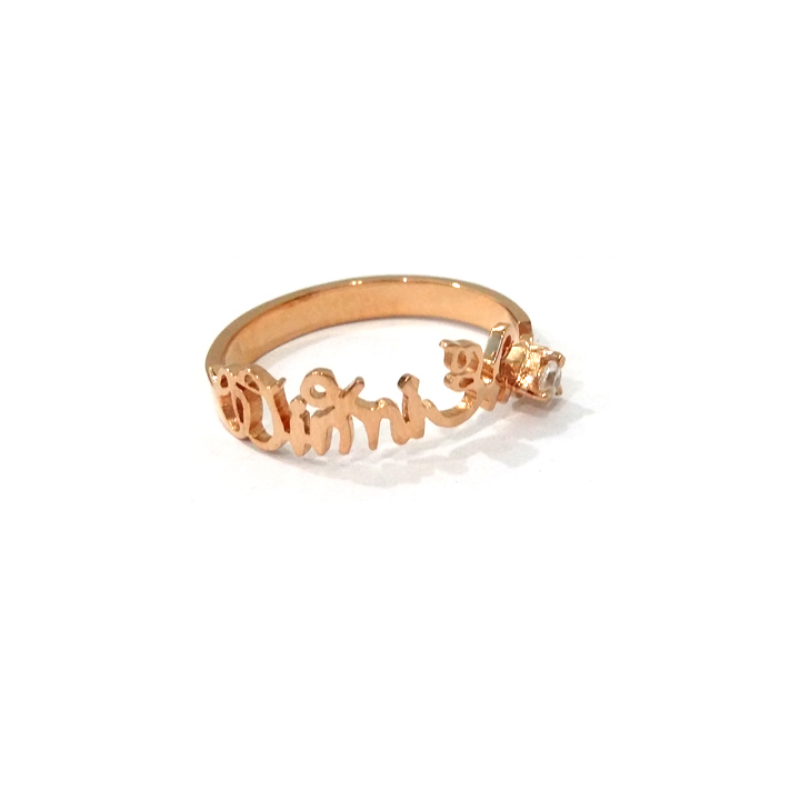 Classic Personalized Name Ring