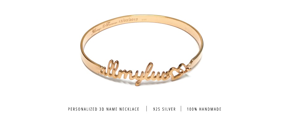 Personalized Name Bangle